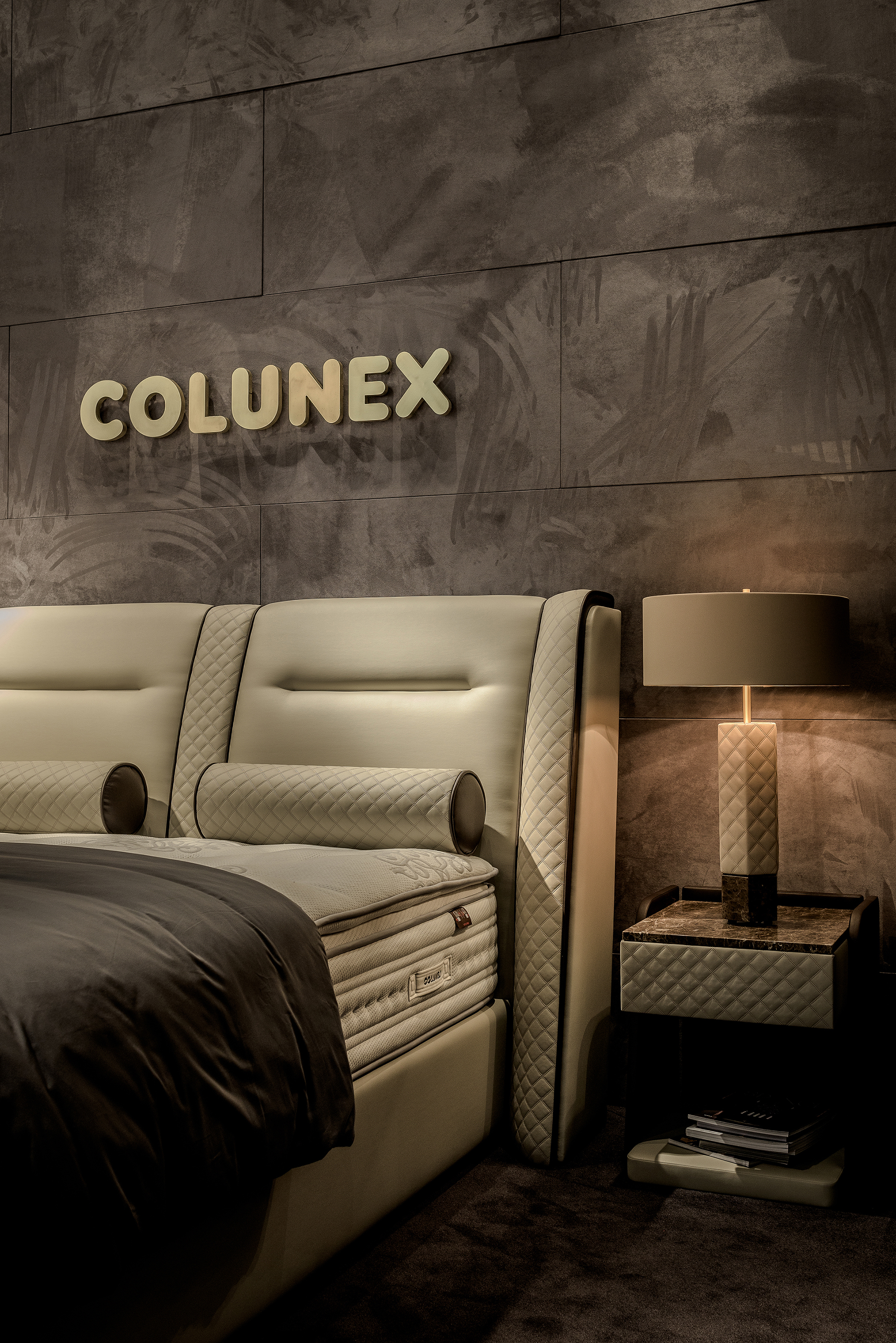 Colunex Luxus Boxspringbett